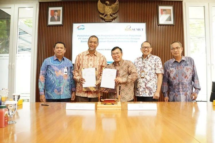 Gandeng Bank Sumut, SMF salurkan pembiayaan KPR Rp.100 Miliar