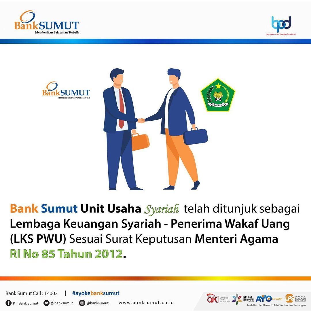 Menjemput Pahala Jariah dengan Wakaf bersama Bank Sumut Syariah